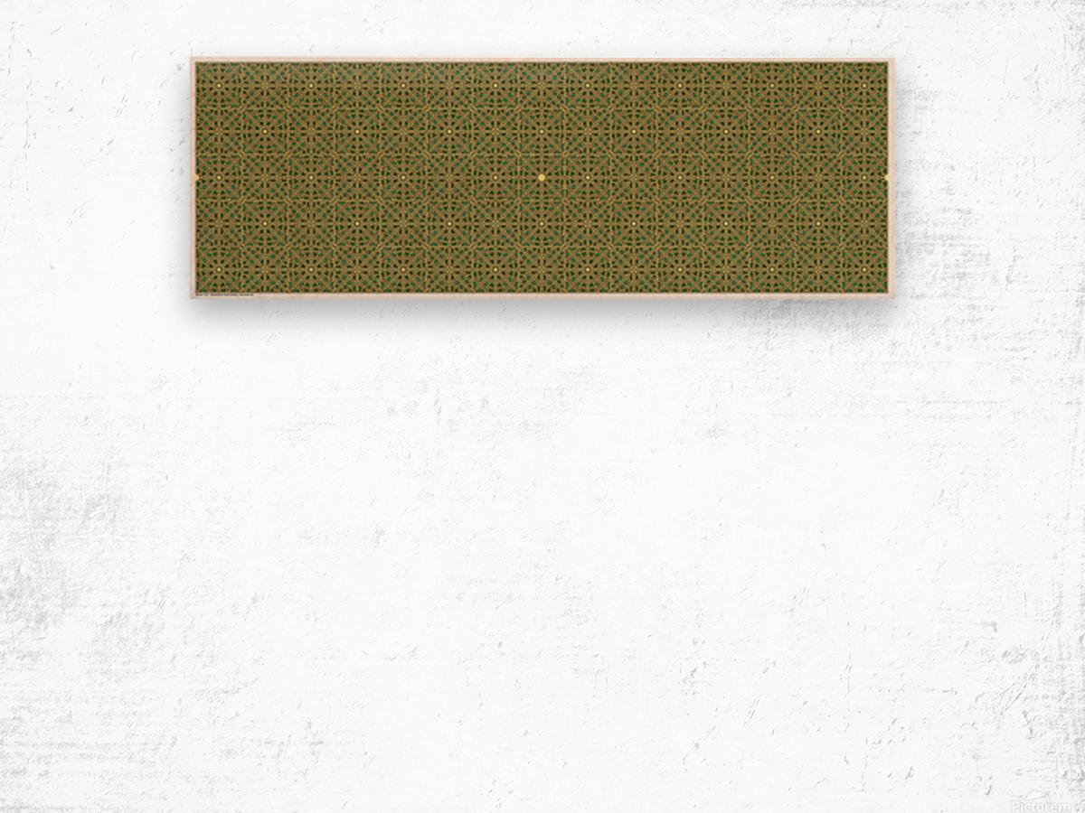 Banner 2501 Wood print