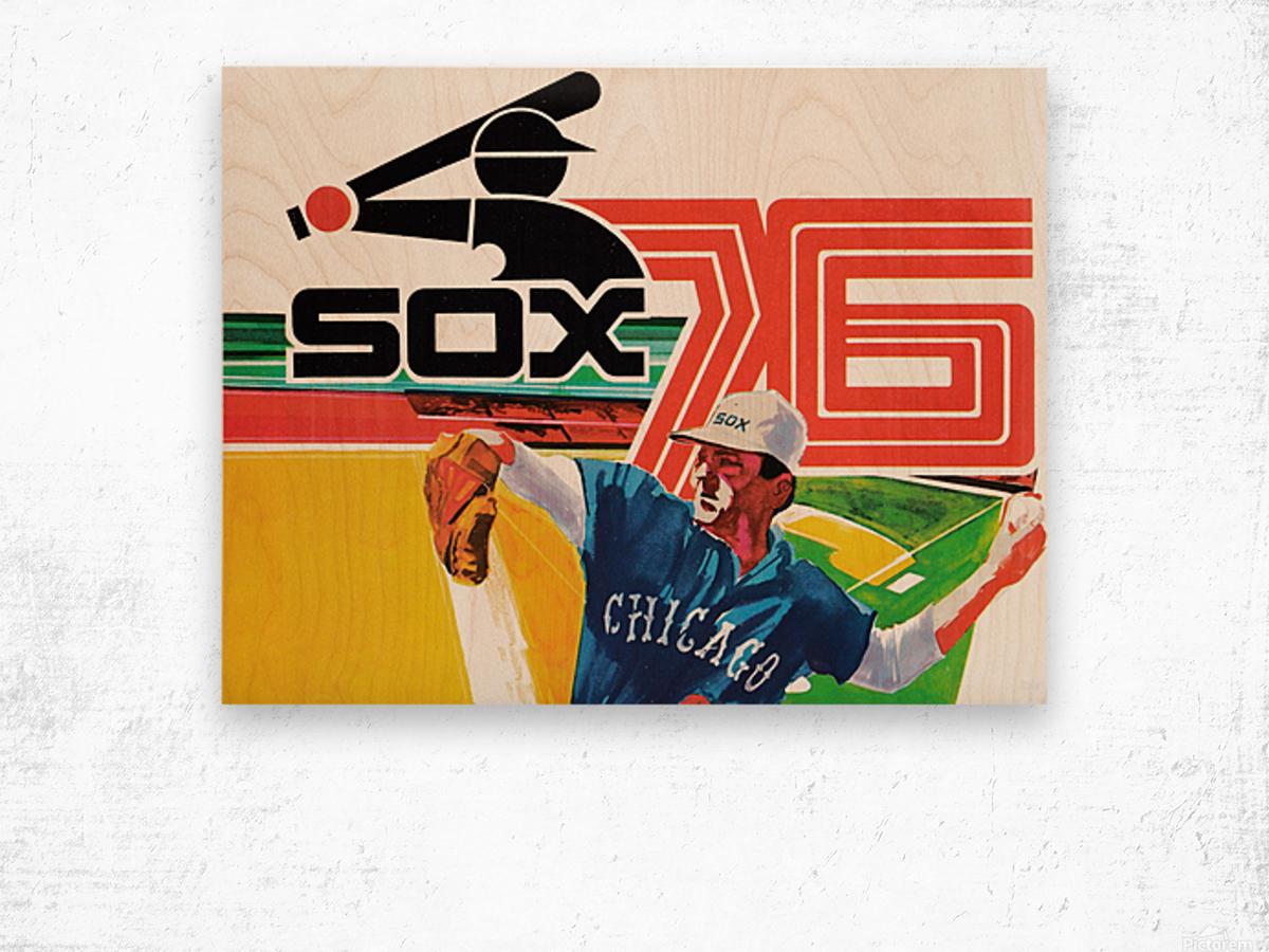 1976 Chicago White Sox Baseball Art Wood print