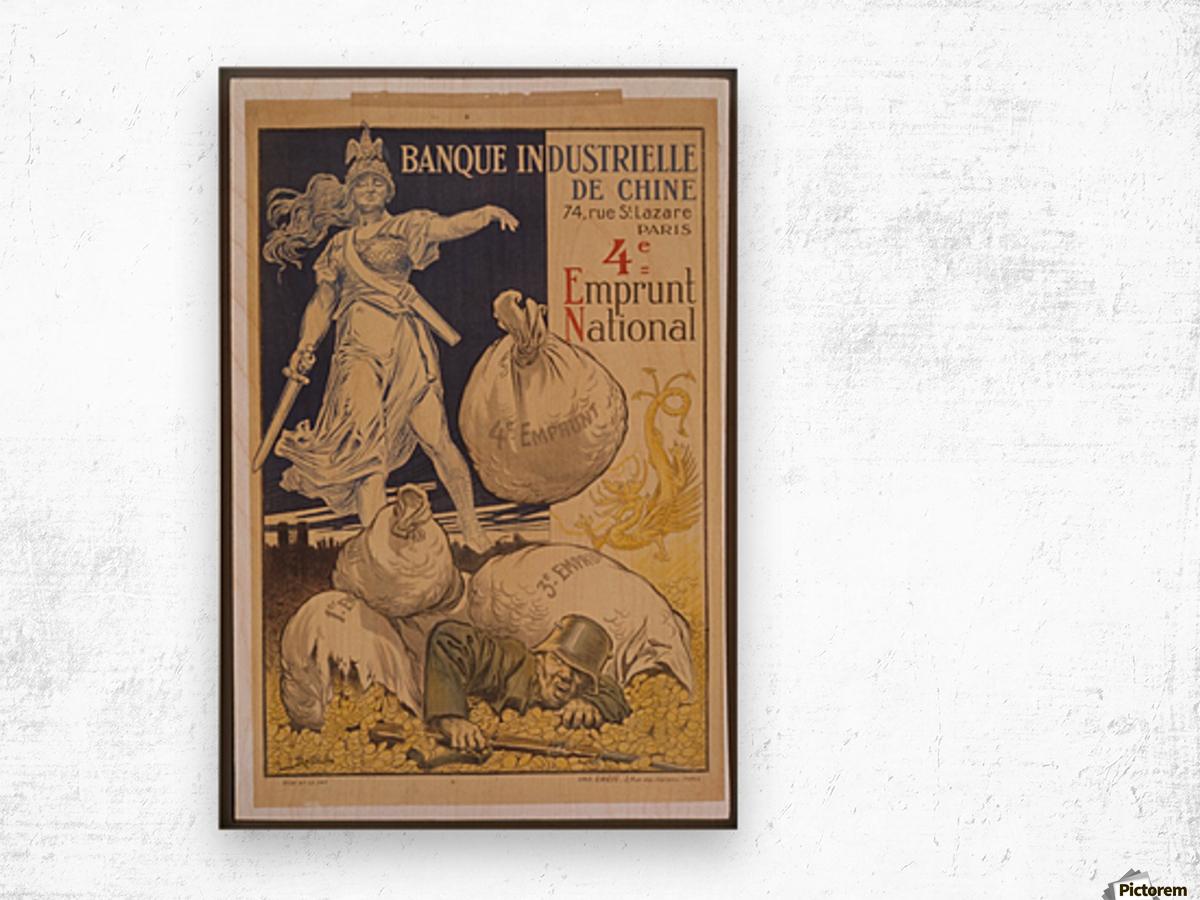 Vintage---German-Defeat Wood print