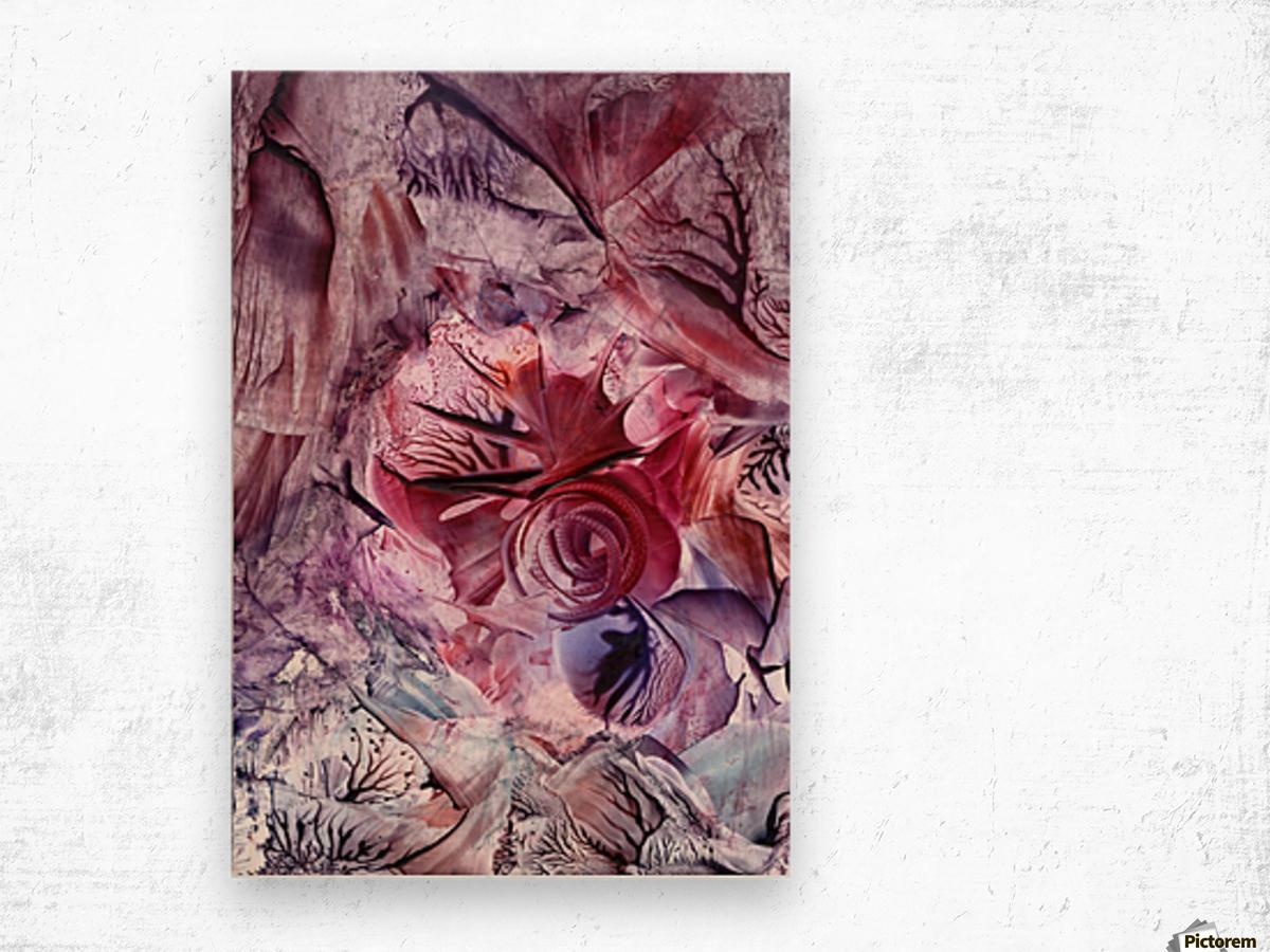 Eden afloat Wood print