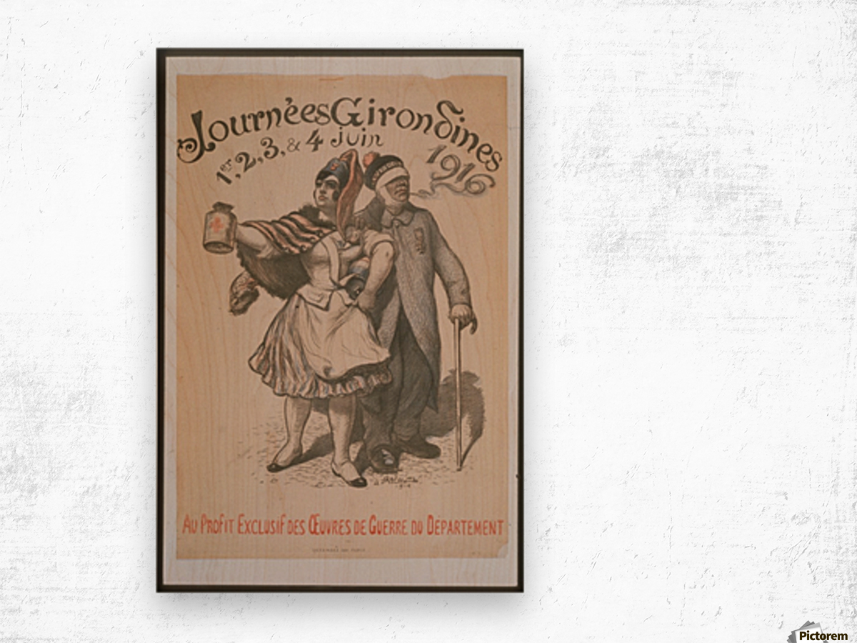 Vintage---Journey-4 Wood print