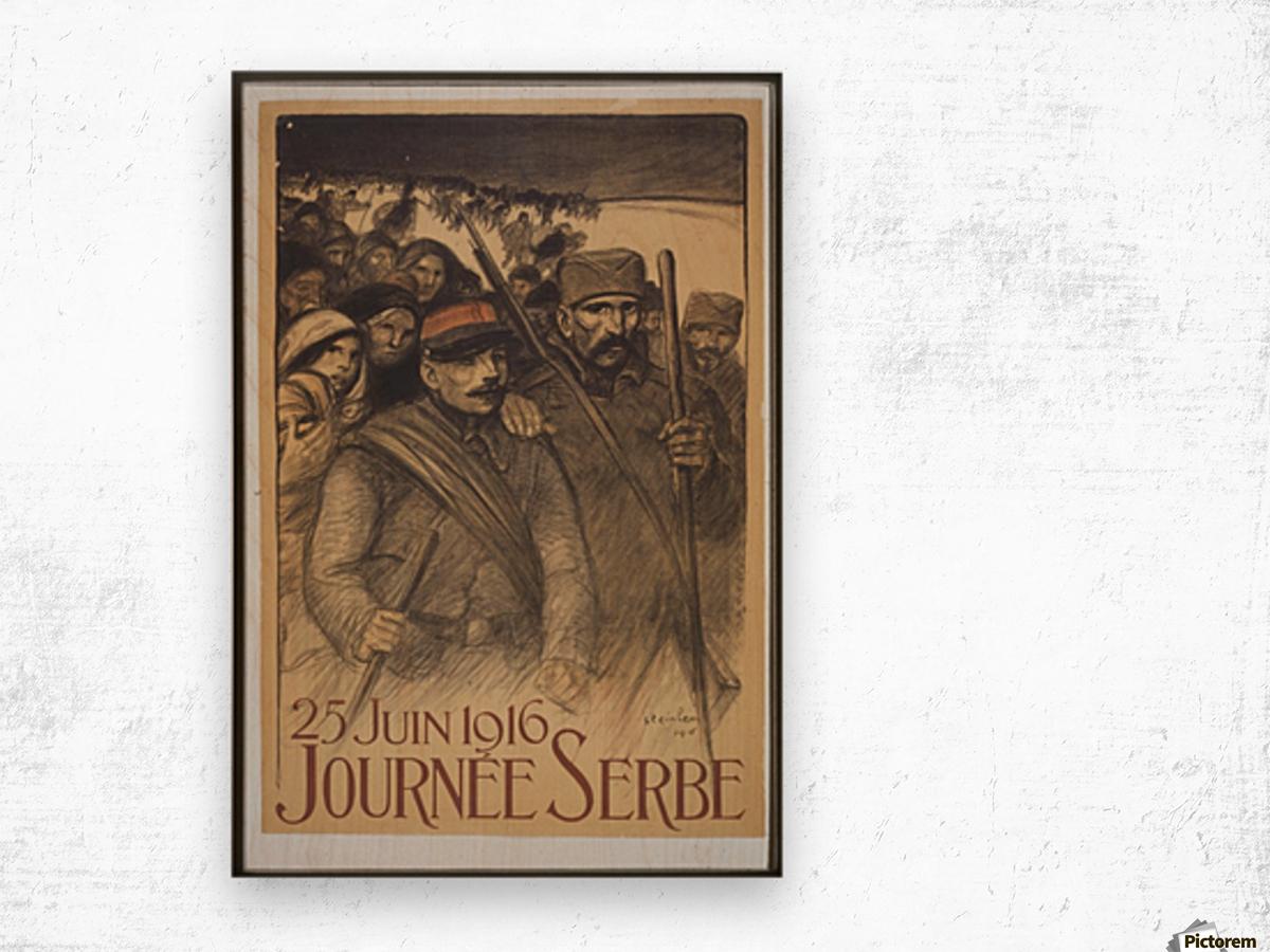 Vintage---Journey-to-Serbia Wood print
