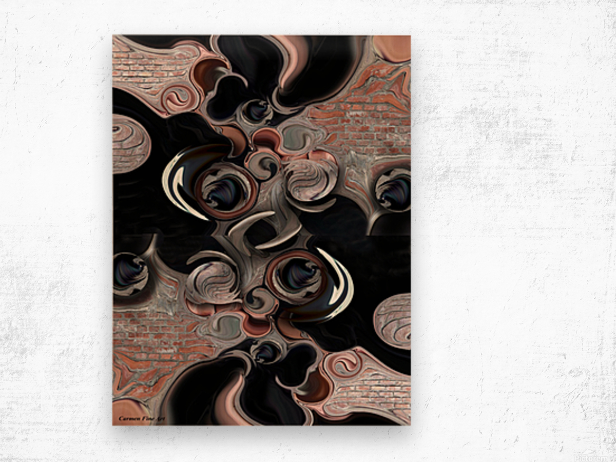 Significance & Abstraction Wood print