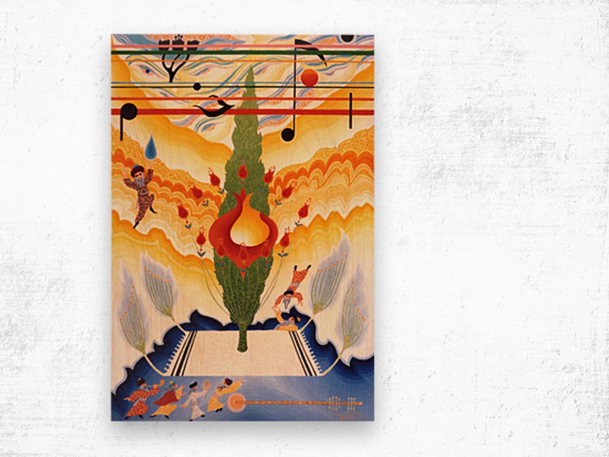 1987 09  Wood print