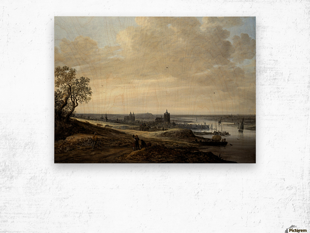 Panorama Landscape with a View of Arnhem Wood print