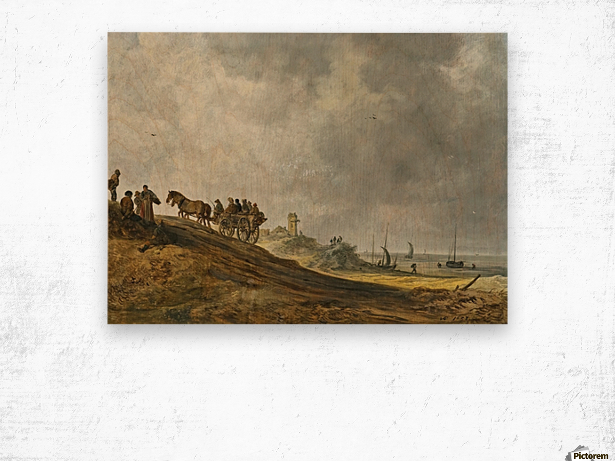 Beach Picture Wood print