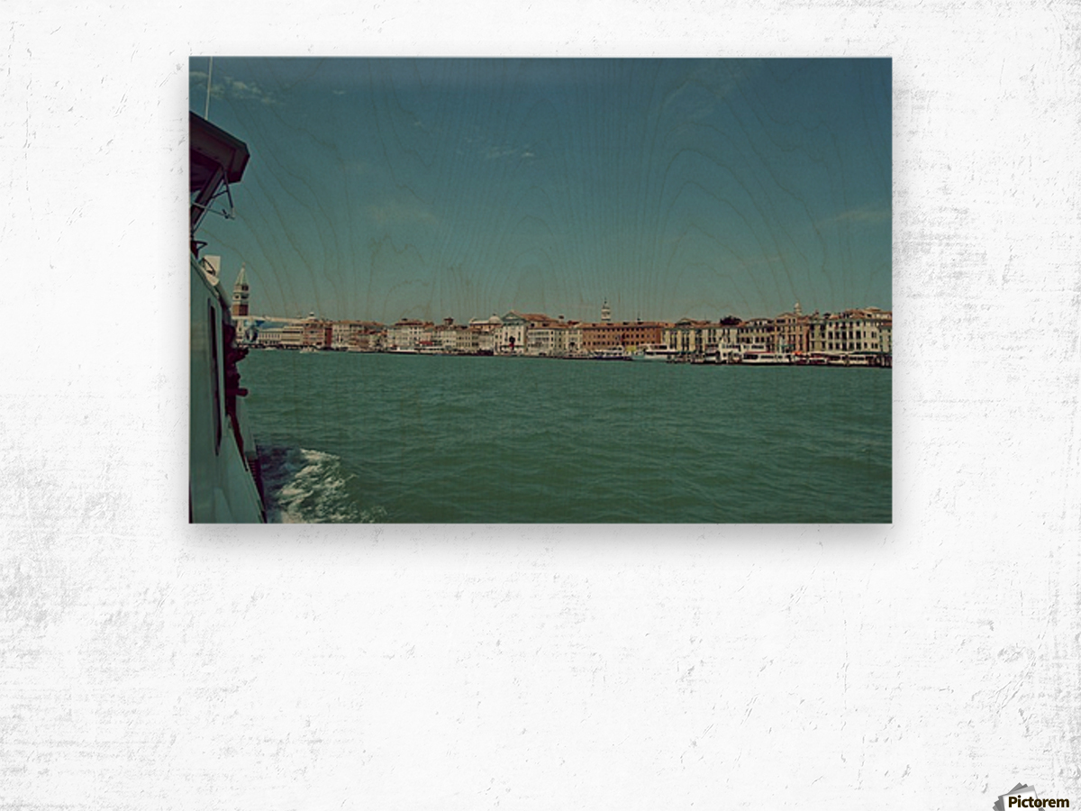 Venice on the see Wood print