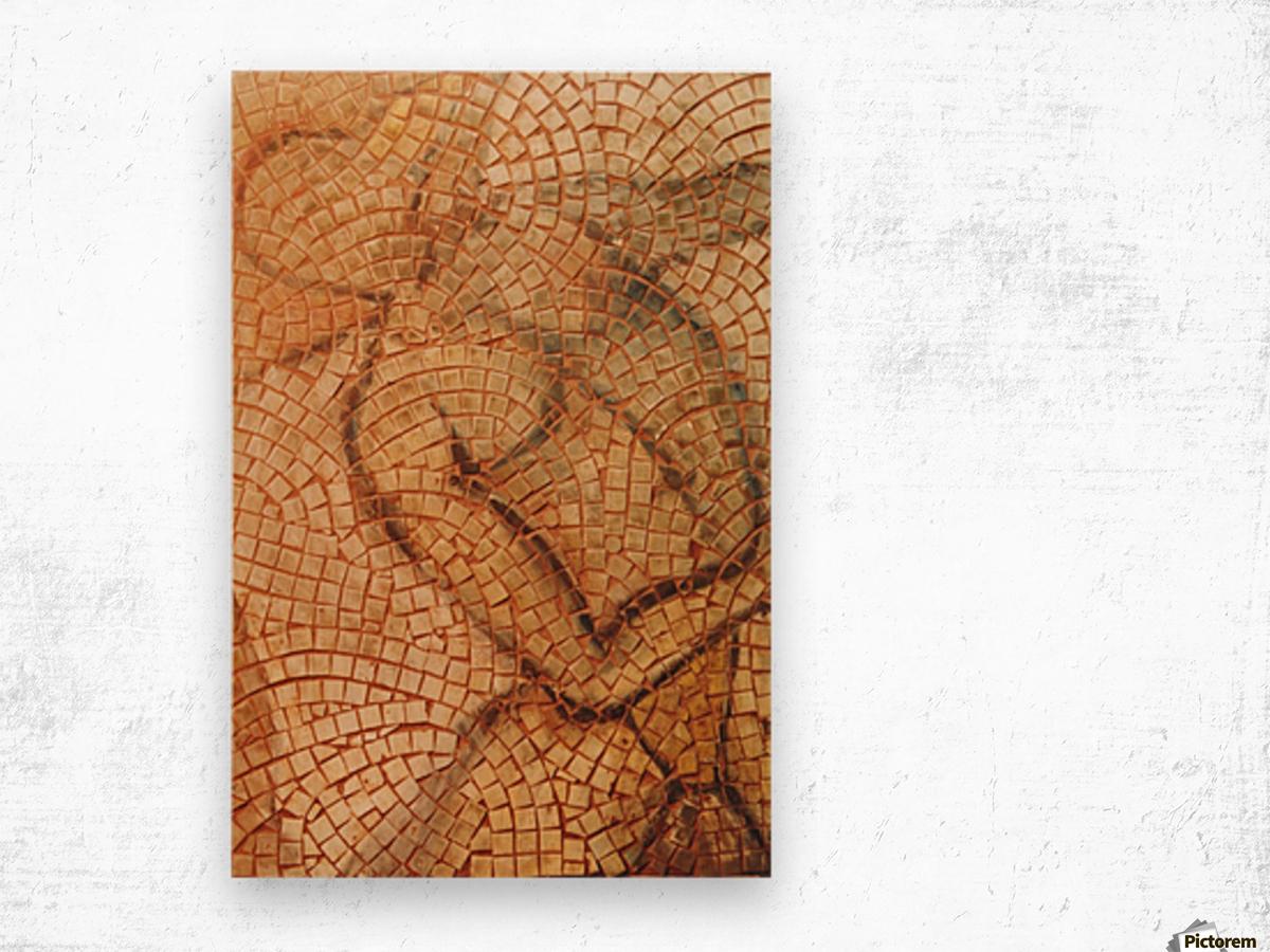 Icare Wood print
