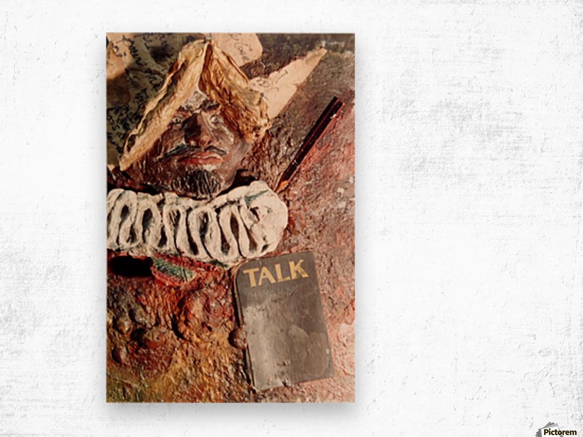 Talk Wood print