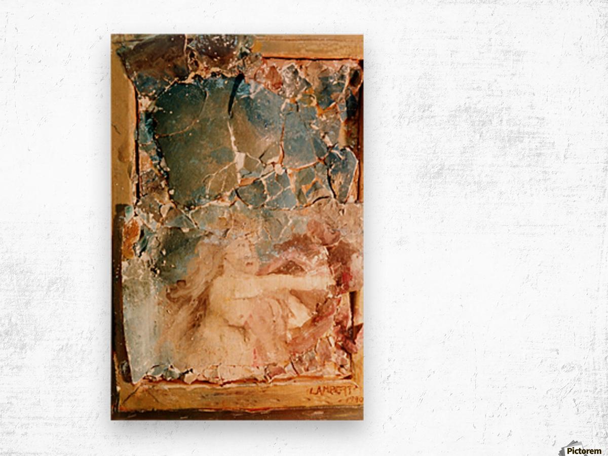 Consequenze della guerra Wood print
