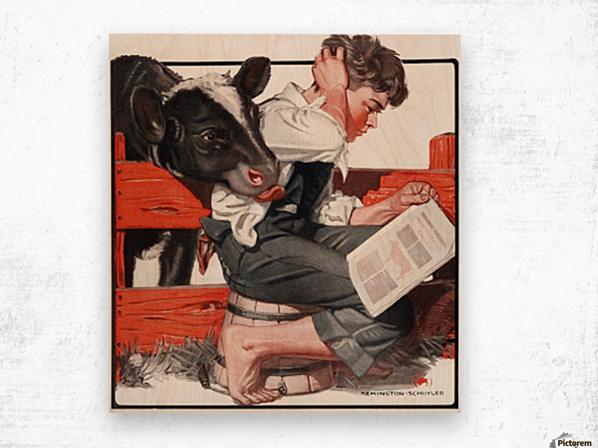 Cover of country gentleman agricultural magazine from the early wood print cover of country gentleman agricultural magazine from the early 20th century wood print jeuxipadfo Images
