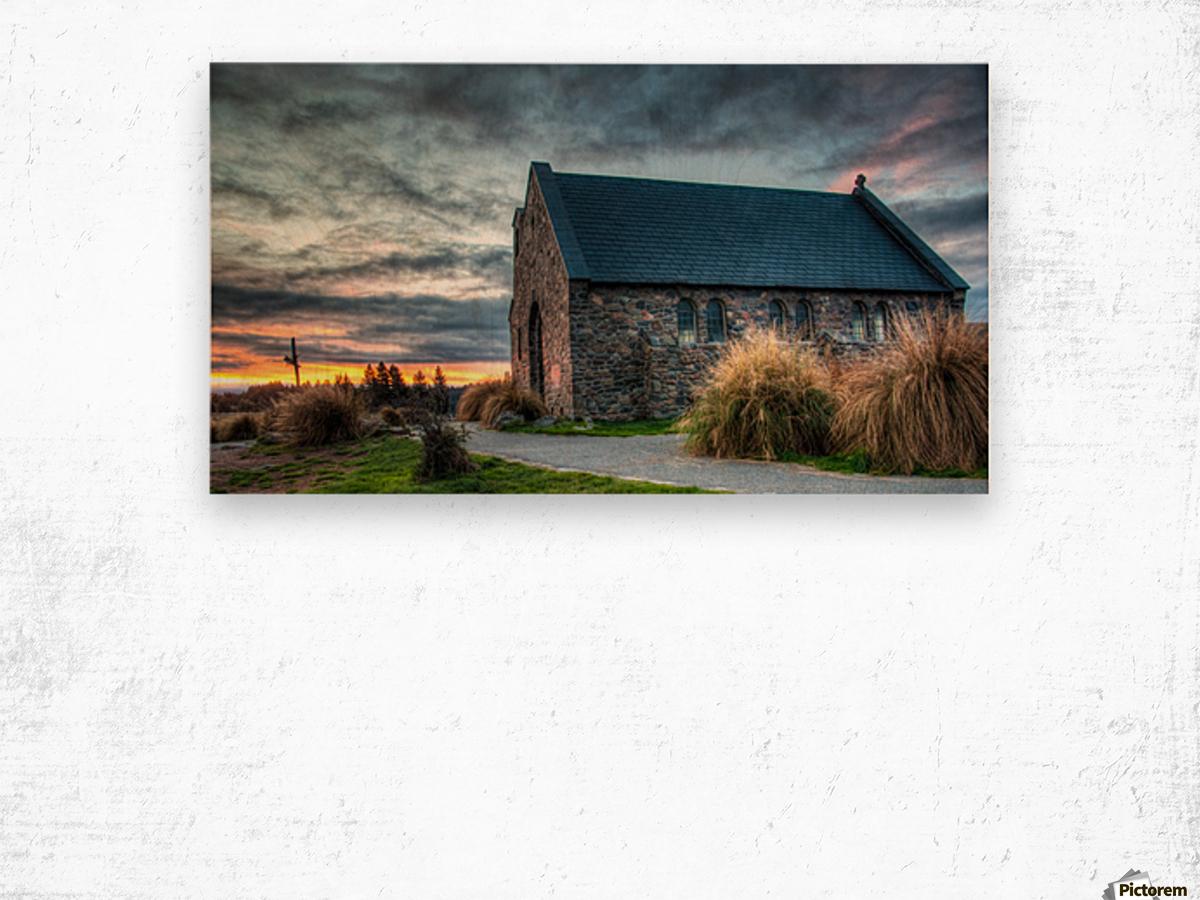 Church of the Good Shepherd Wood print