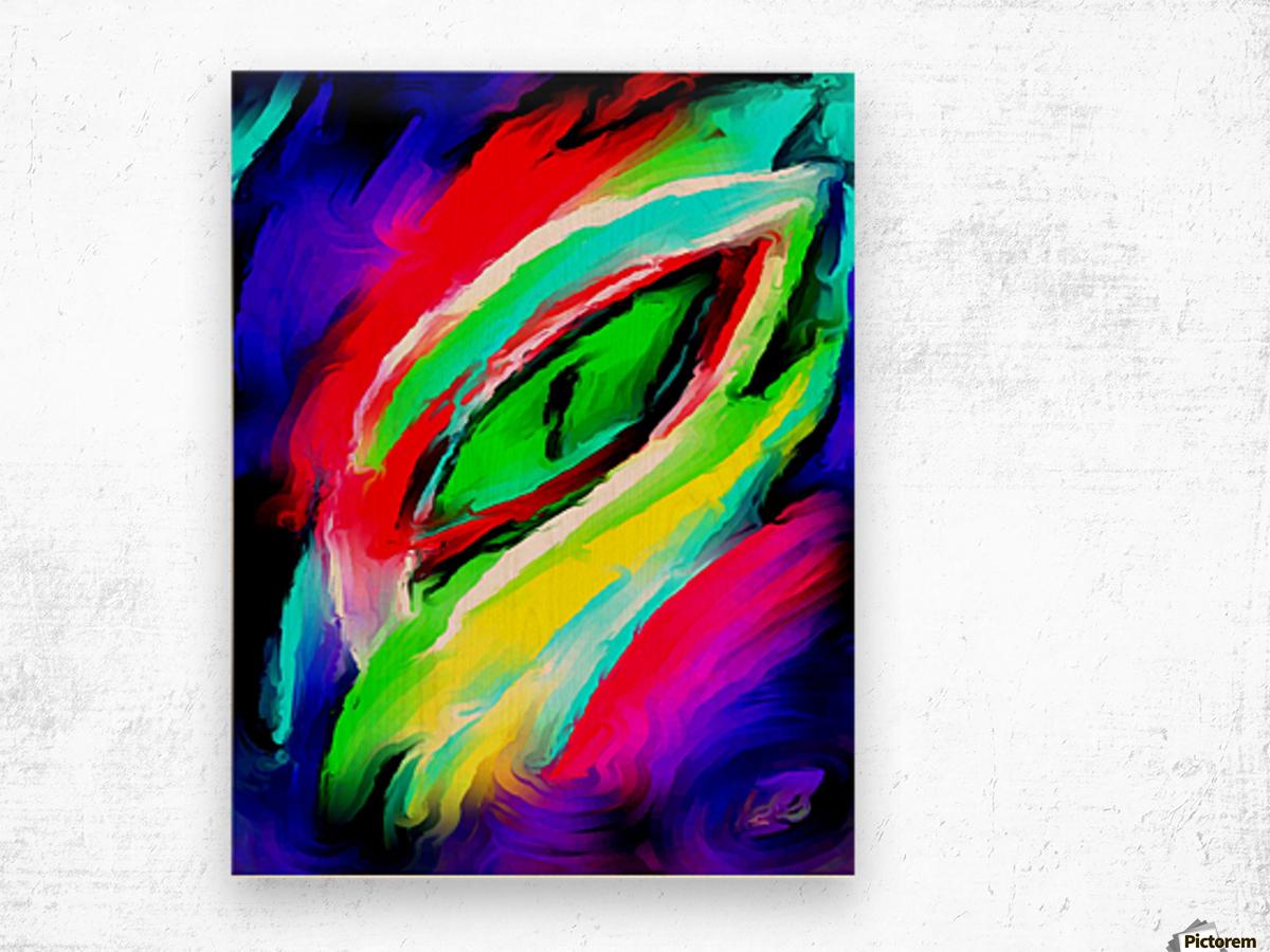 eyee Wood print