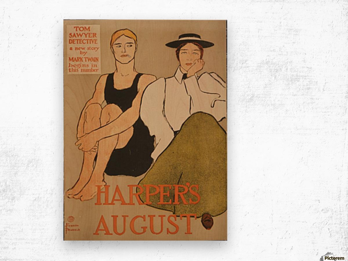 Harpers August Wood print