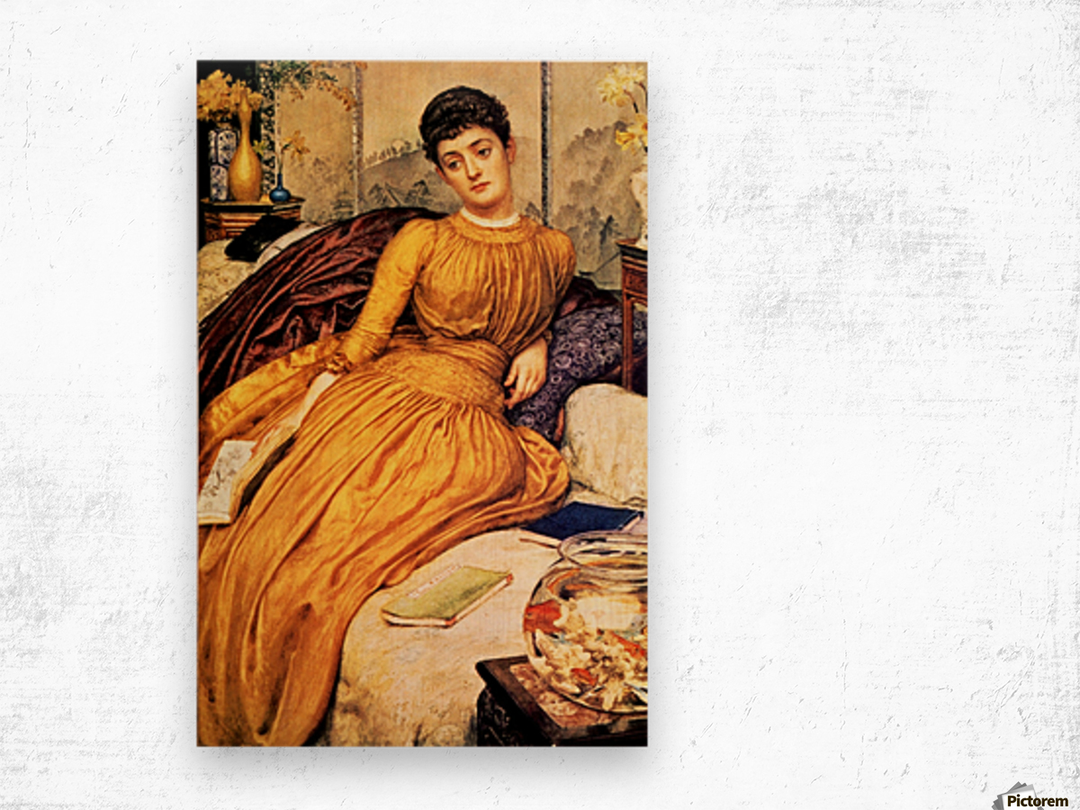 Mary Constance Wyndham Wood print