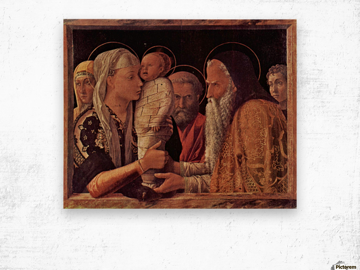 Presentation of Jesus at the Temple Wood print