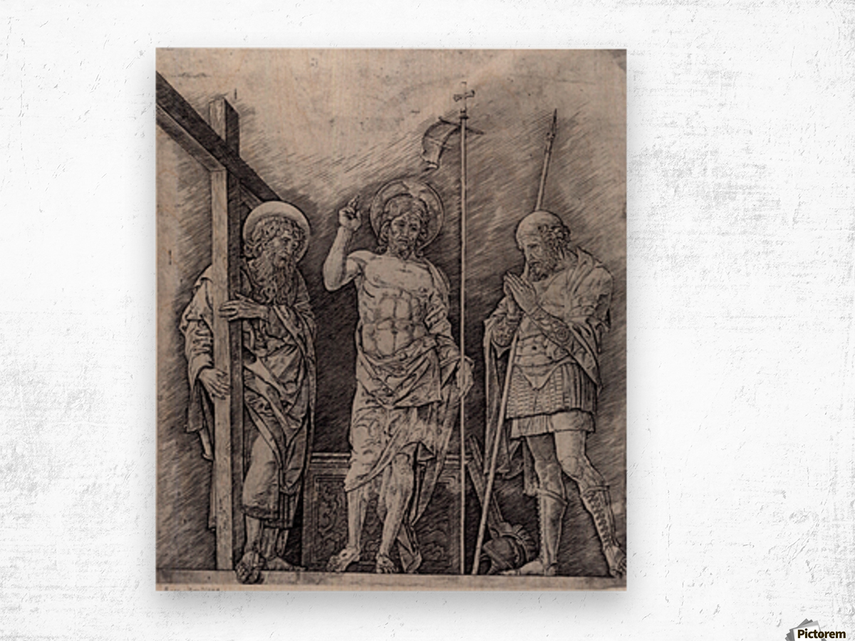 The Resurrection of Christ Wood print