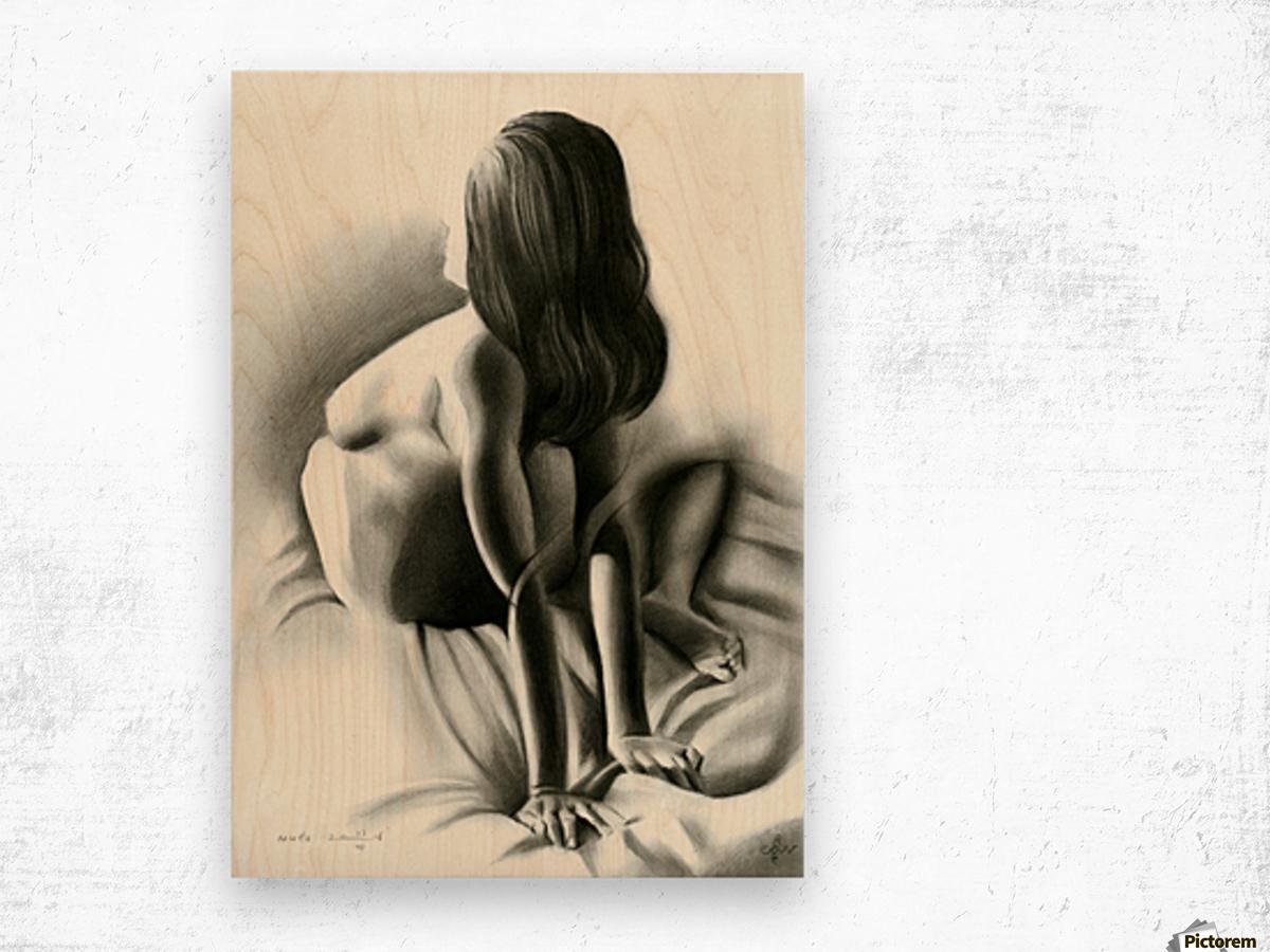 Nude - 03-06-16 Wood print