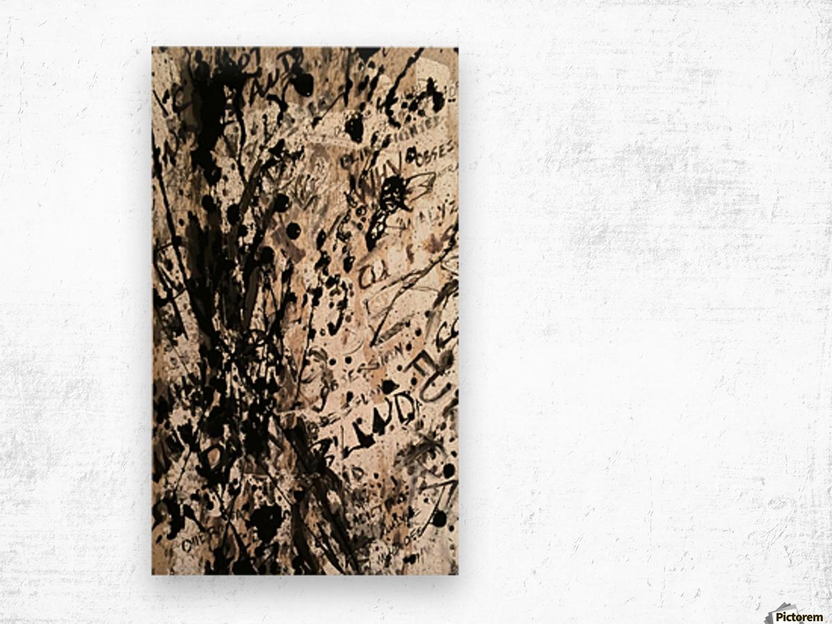 Obsession in Progress 2 Wood print