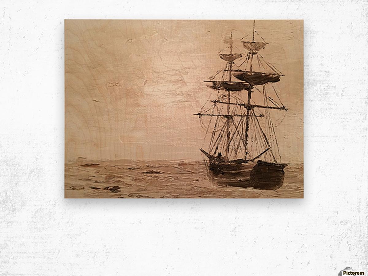 TaiPan Wood print