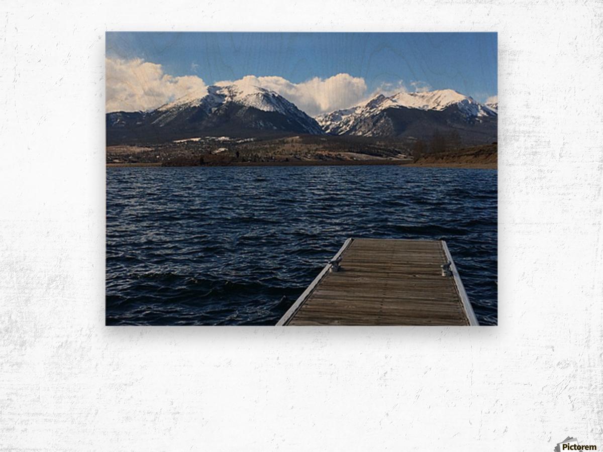 Denver Lake Wood print