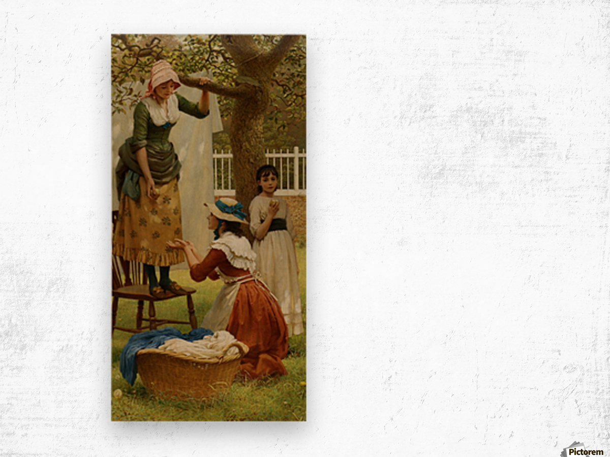 The Daughters of Eve Wood print