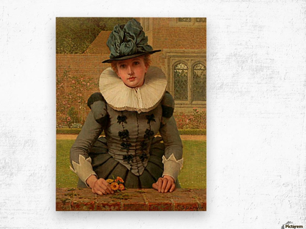 Sweet Anne Page Wood print