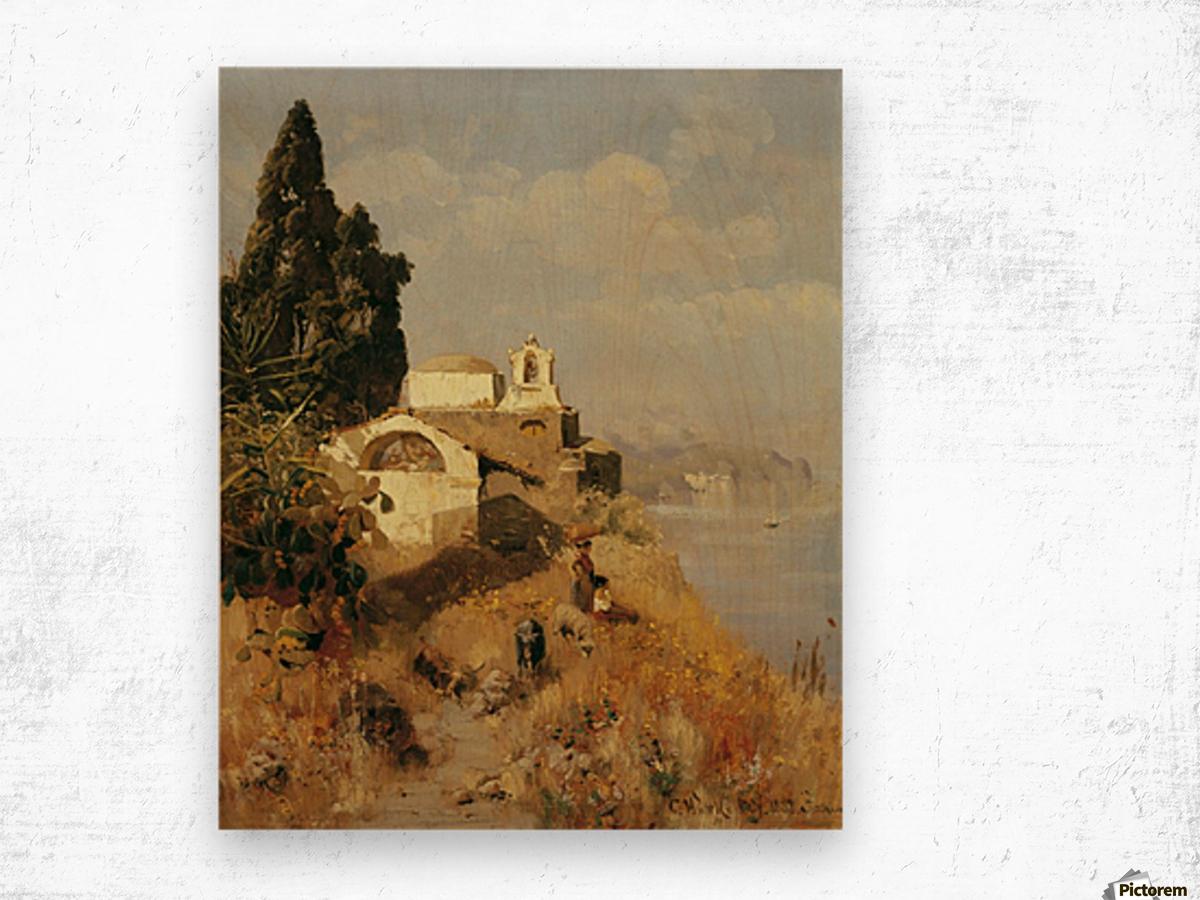 On Ischia in Casamicciola Wood print