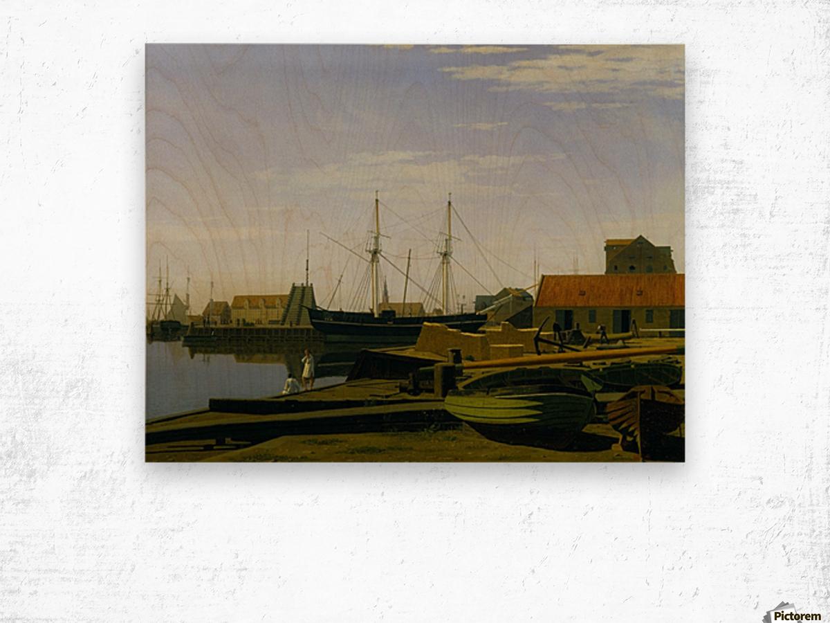 Larsen Square near Copenhagen Harbor Wood print