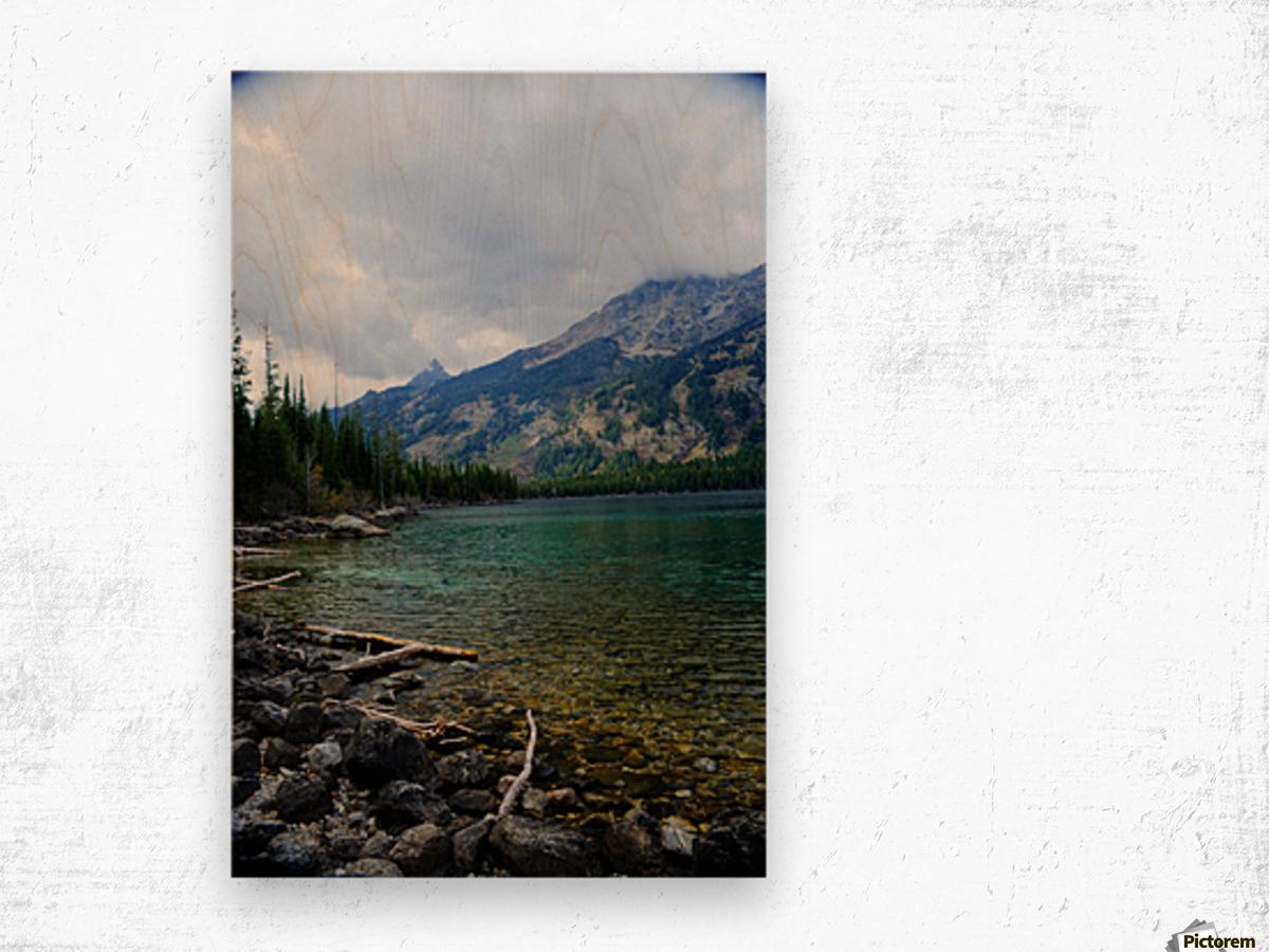 Jenny Lake   Jackson Hole Wood print