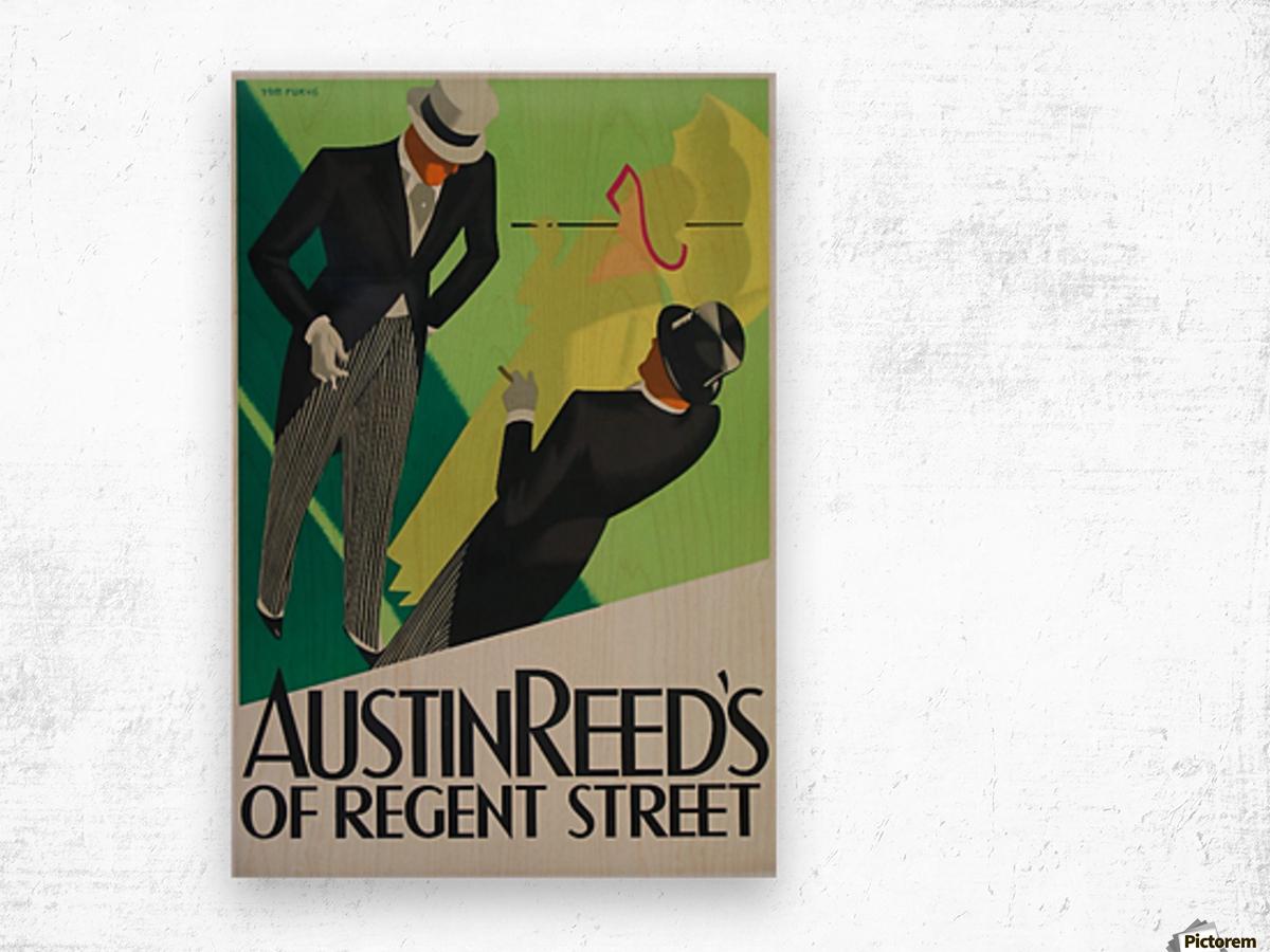 Austin Reed of Regent Street poster Wood print