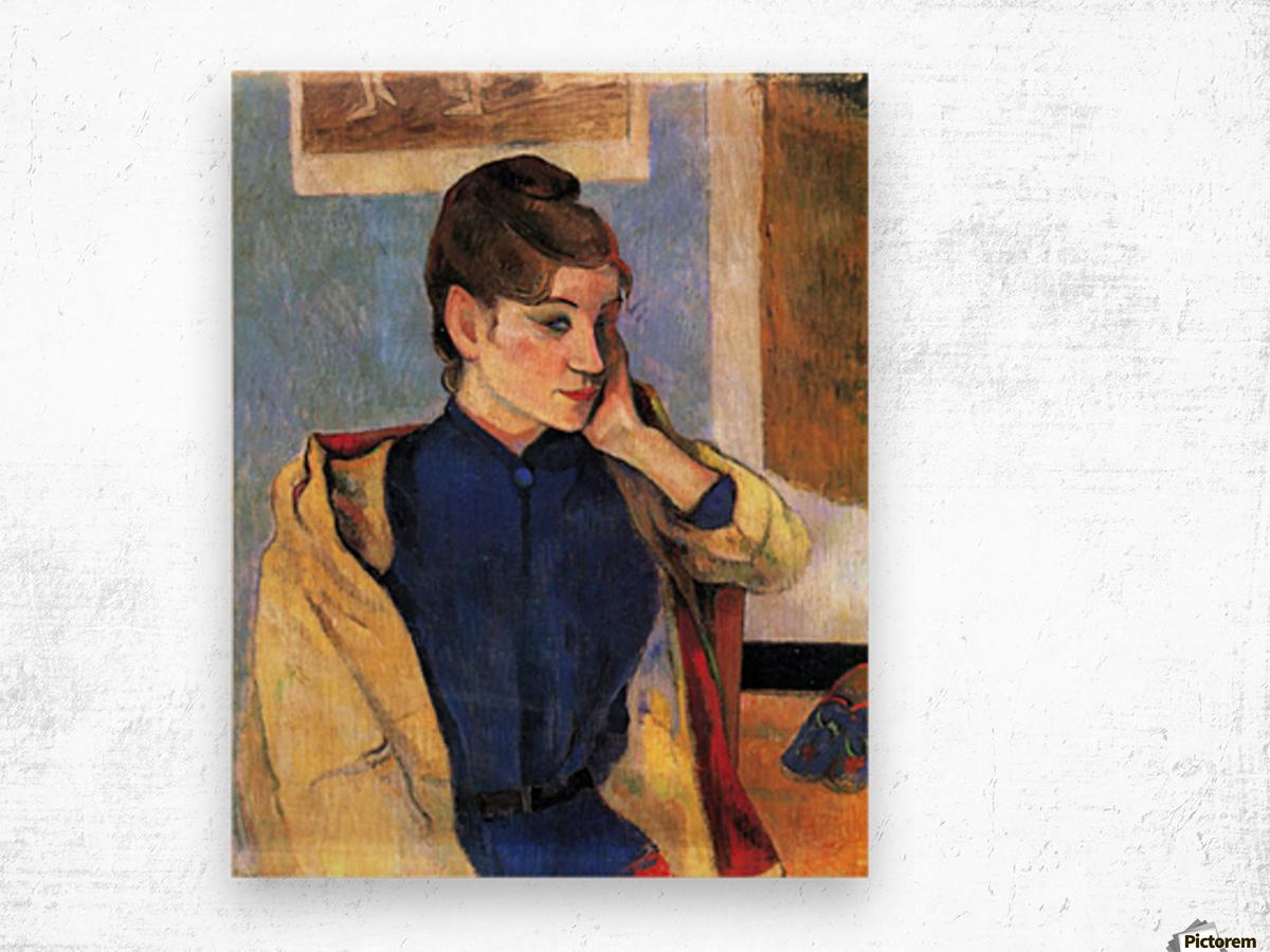 Madeleine Bernard by Gauguin Wood print