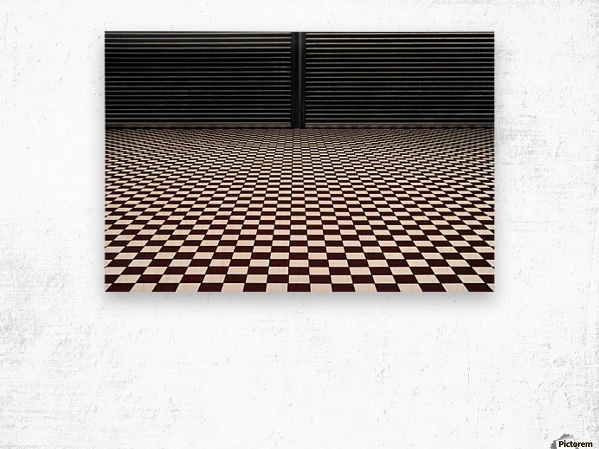 the hypnotic floor Impression sur bois