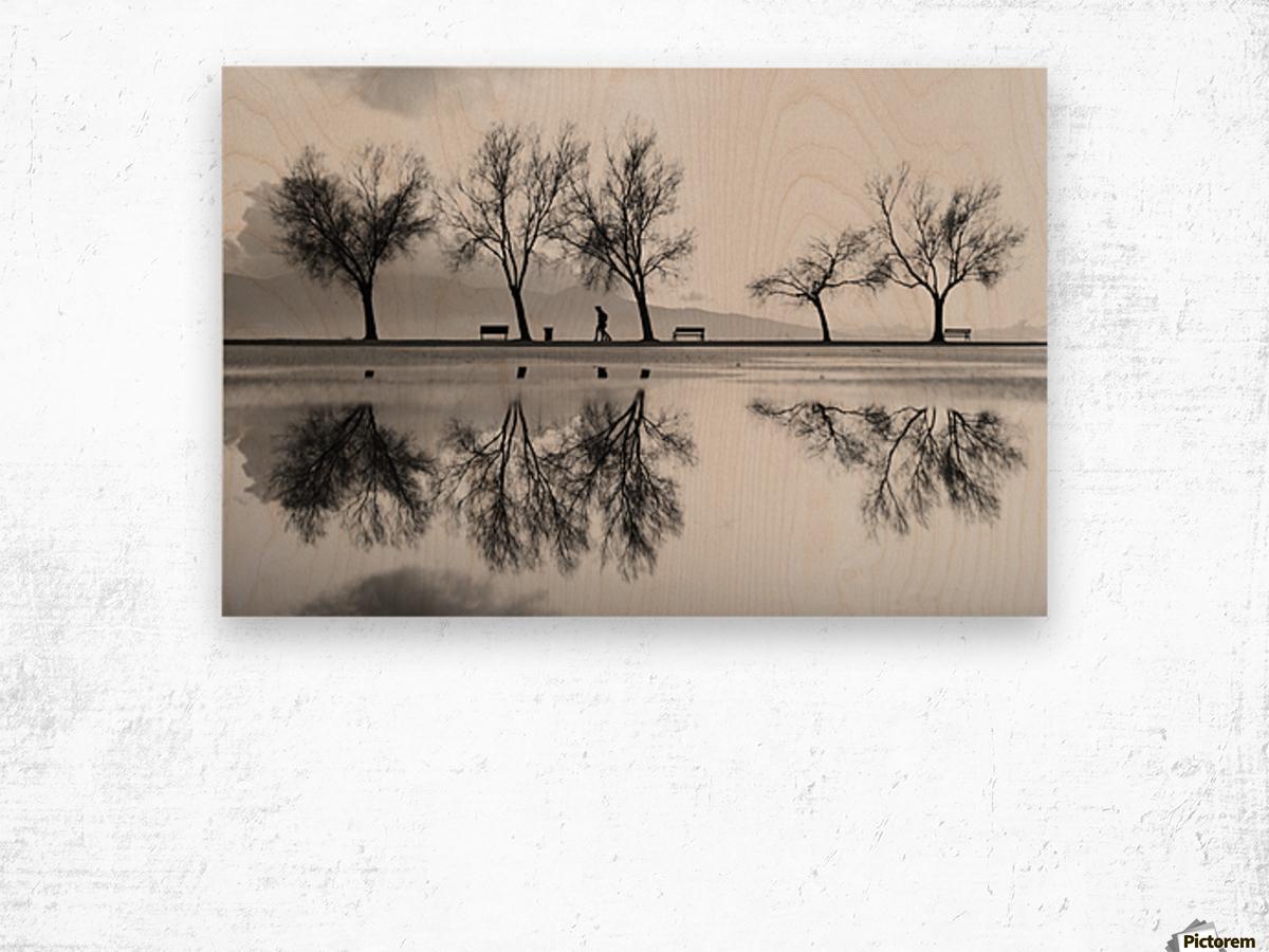 KarAŸA±yaka'dan Bir YansA±ma Wood print