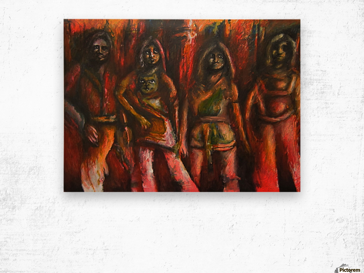 Bad ABBA Wood print