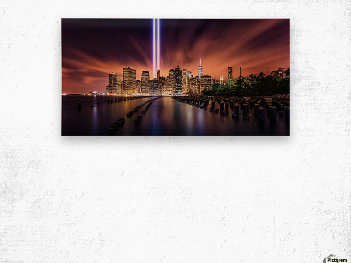 Unforgettable 9-11 Wood print