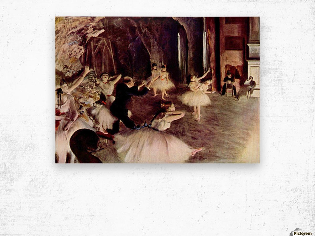 Stage Probe by Degas Wood print
