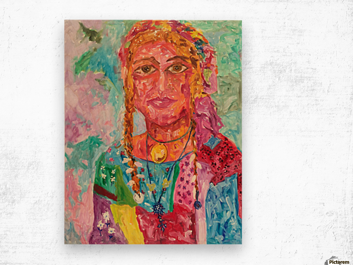 Gypsy Queen Wood print