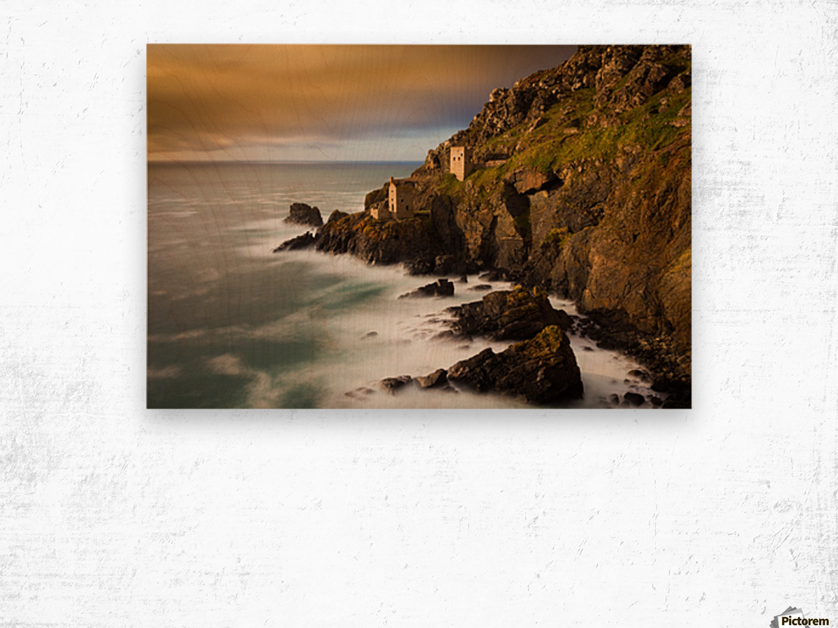 Botallack in 40 seconds Wood print