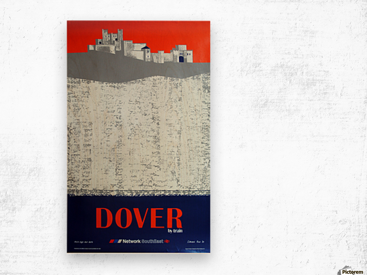 Dover by Train Wood print