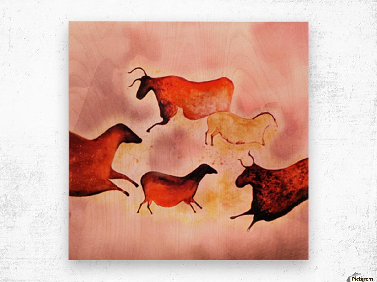 Art185 Wood print
