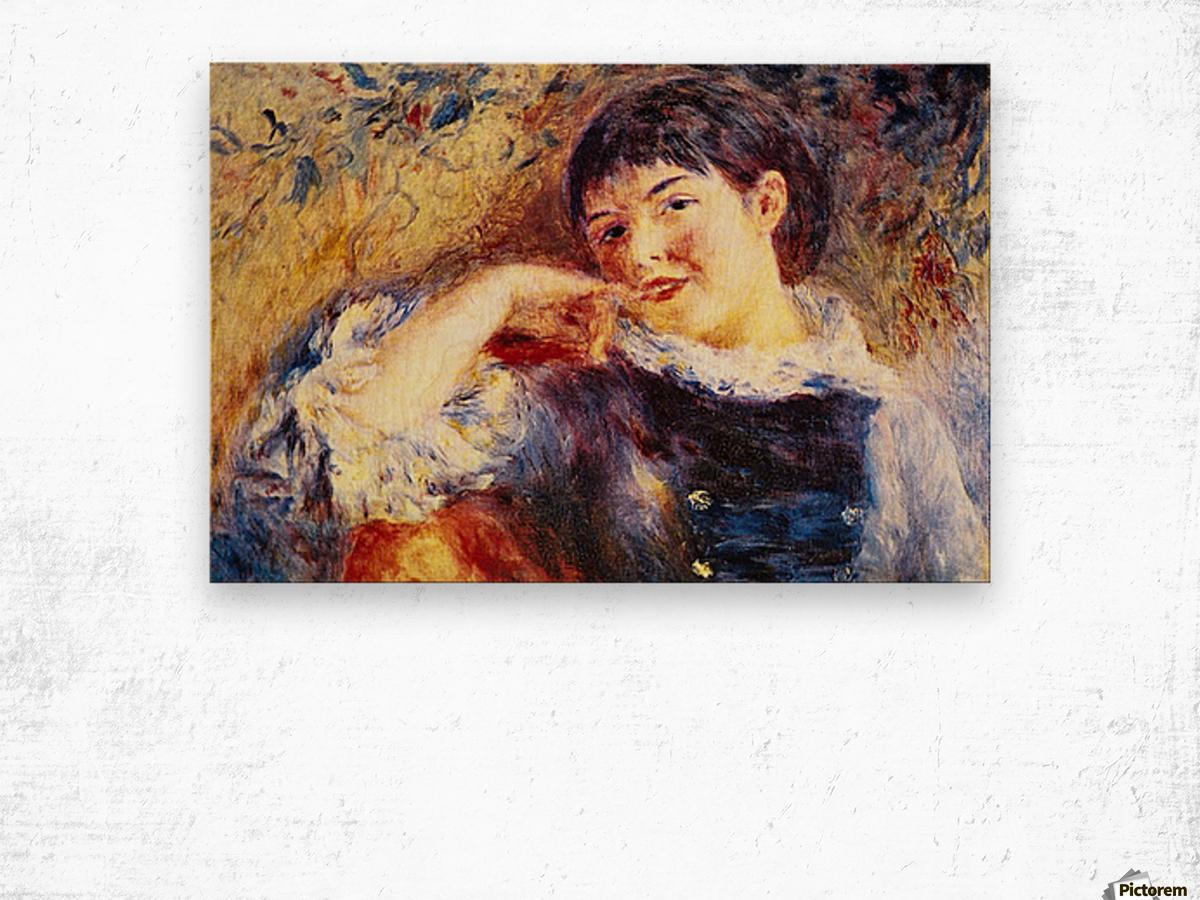 The Dreamer by Renoir Wood print