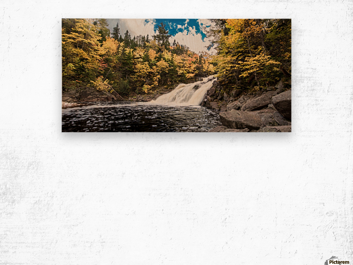 Colorful Mary Ann Falls Wood print