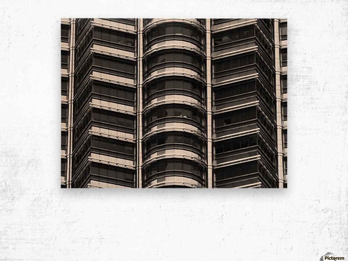 Kuala Lumpur Petronas Twin Towers Malaysia Wood print