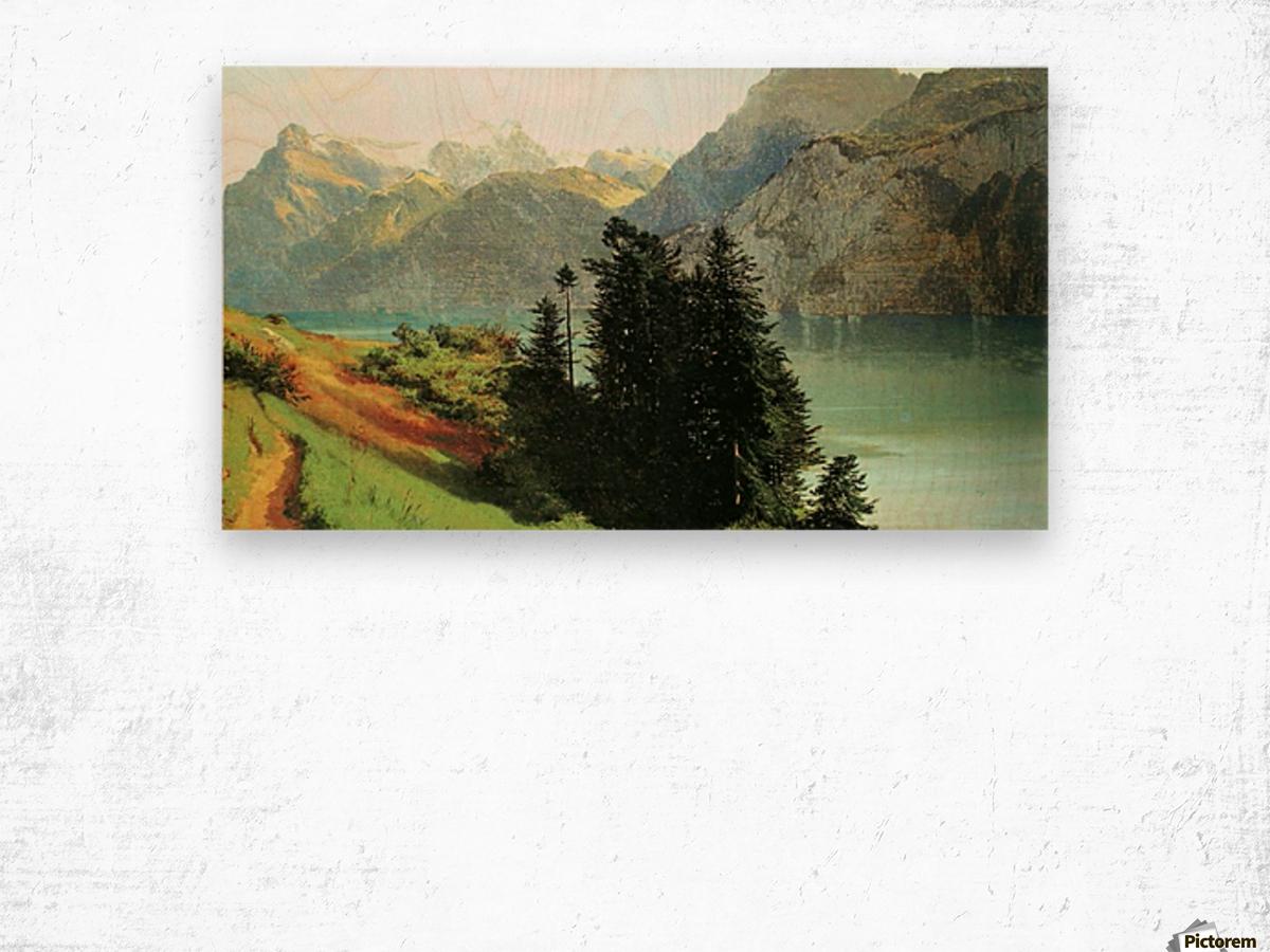 Paisajista Wood print