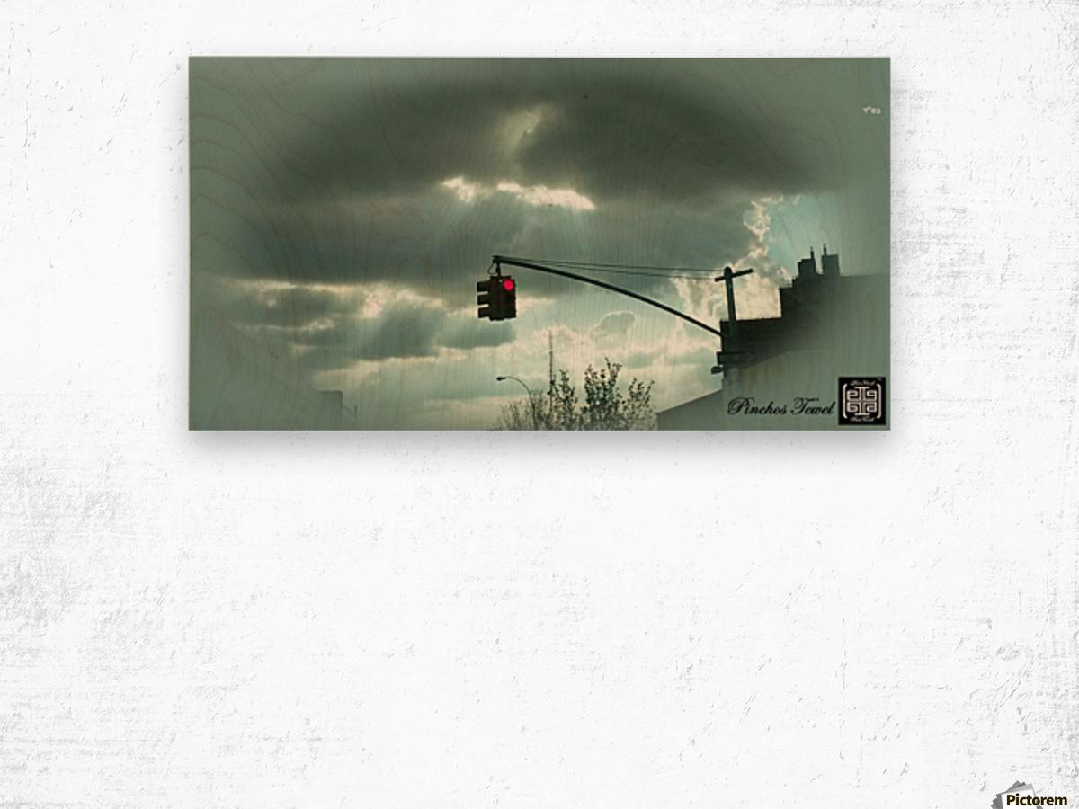 ART  sky   cloudy 3   Wood print