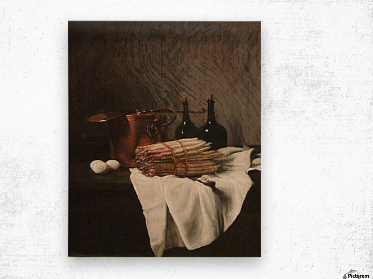 Still life on withe cloth Impression sur bois