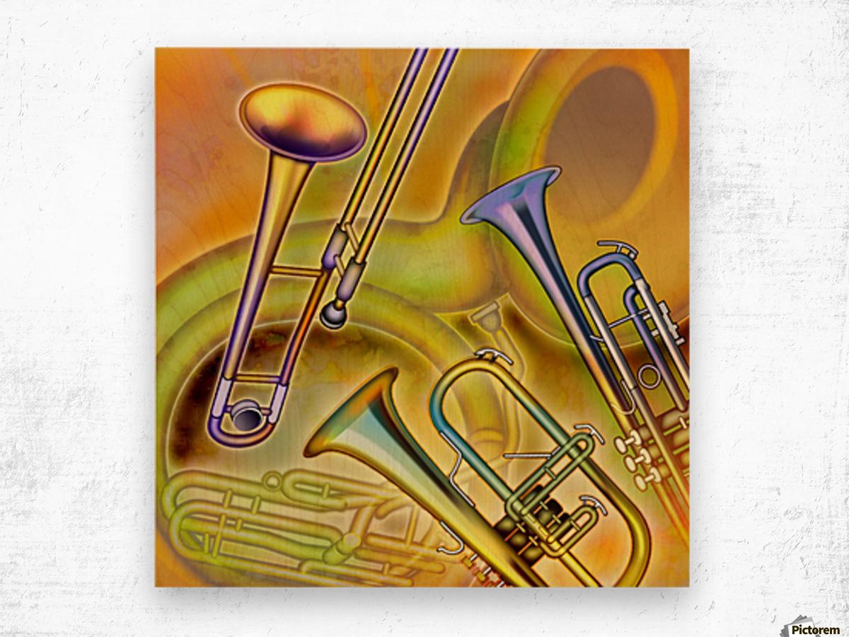 Brass Instruments - PacificStock Canvas