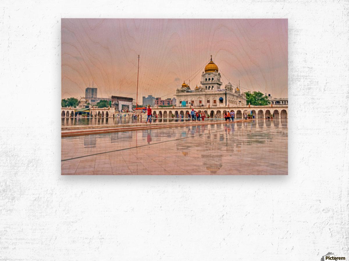 Gurudwara Bangla Sahib Wood print