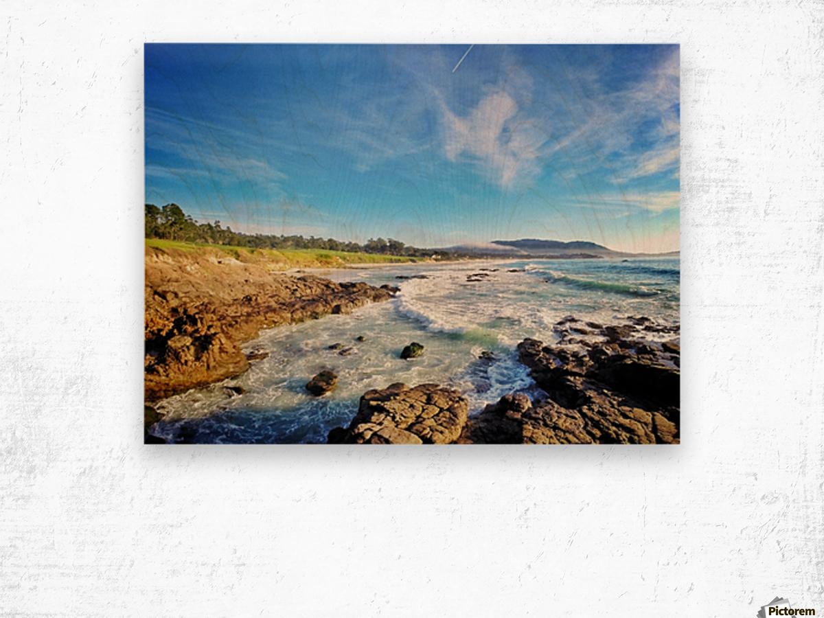 Pebble Beach GC Wood print